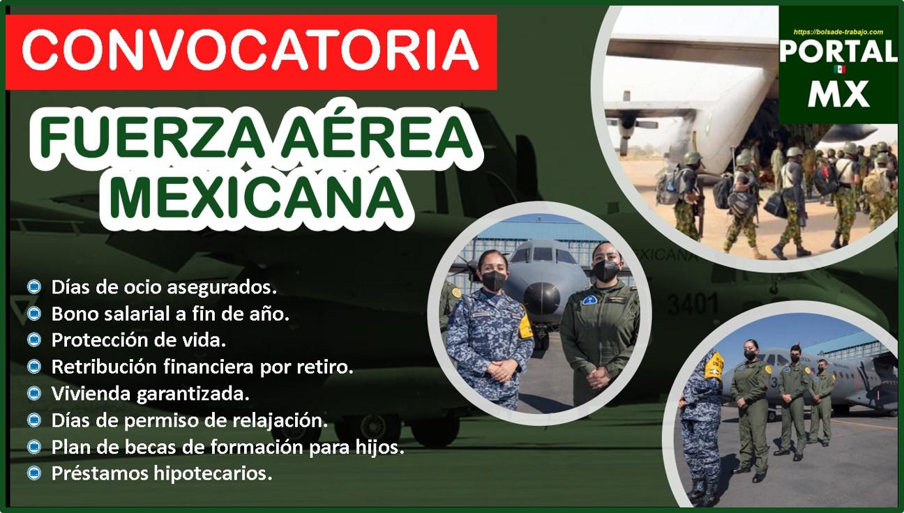 Convocatoria Fuerza Aérea Mexicana 2021-2022