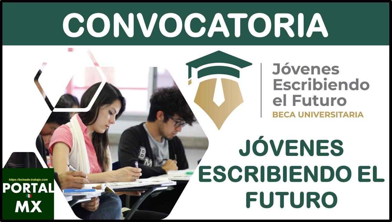 Convocatoria Jóvenes escribiendo el futuro2021-2022