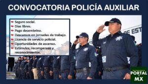 Convocatoria Policía Auxiliar 2021-2022