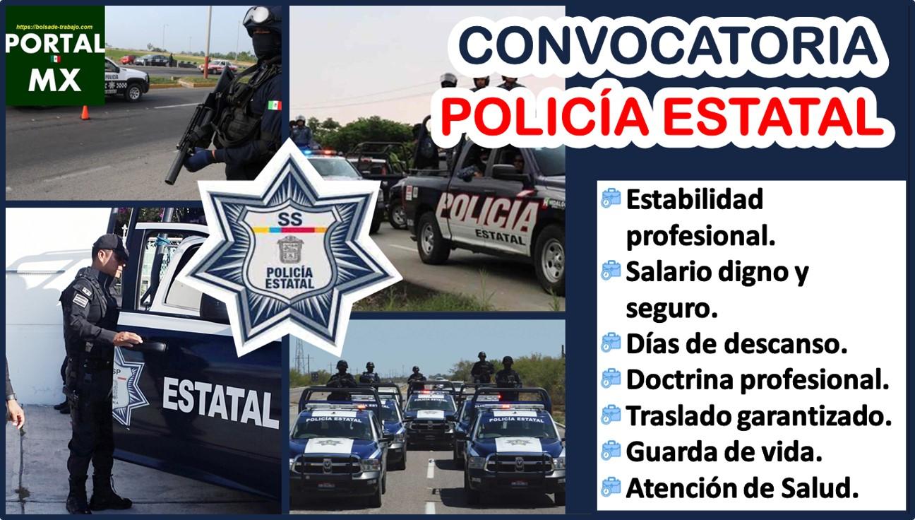 Convocatoria Policía Estatal 2021-2022
