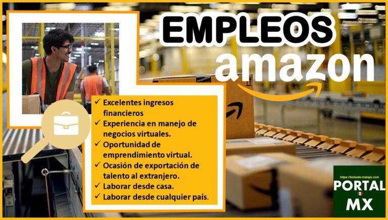 Empleos Amazon 2021-2022
