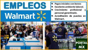 Empleos en Walmart 2021-2022