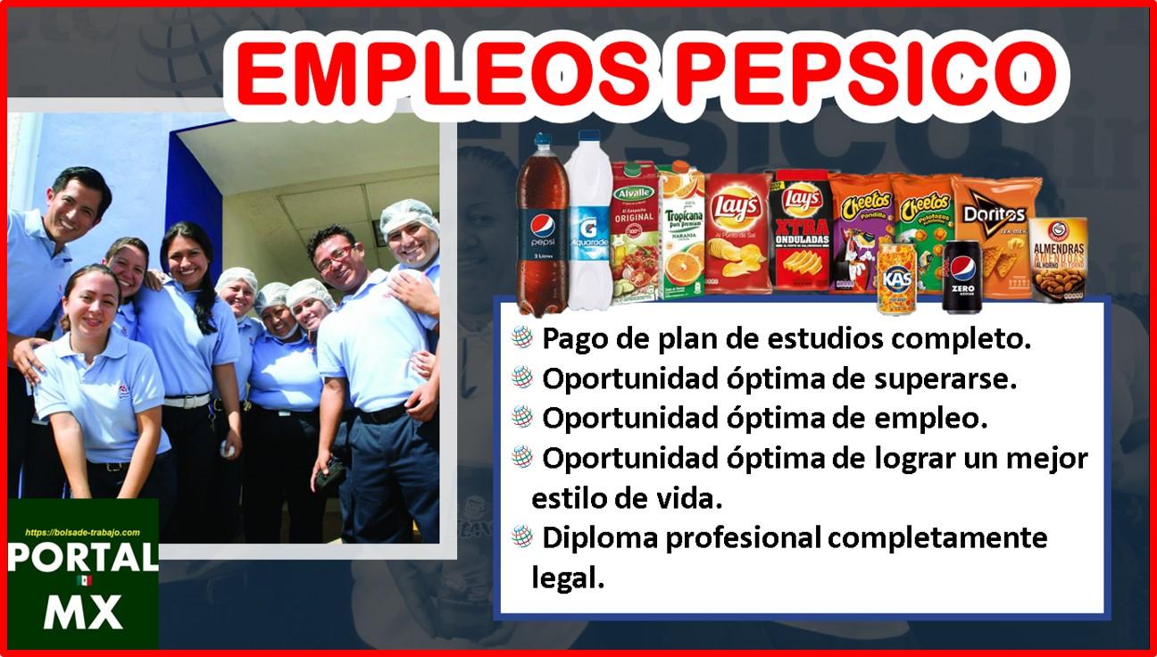 Empleos PepsiCo 2021-2022