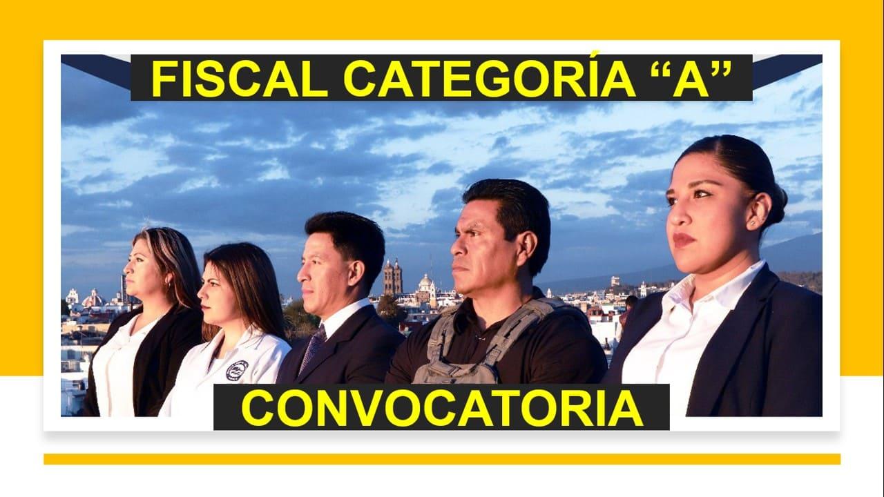 Convocatoria Fiscal Categoría A