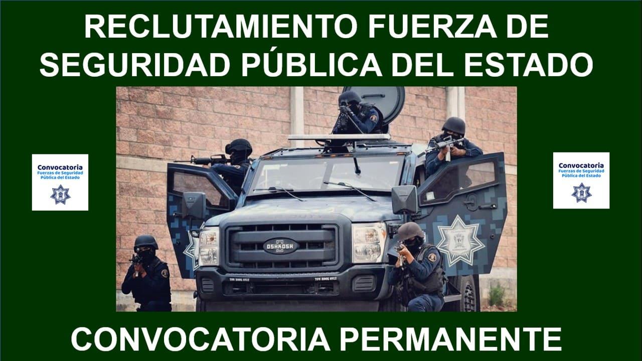 fuerza de seguridad publica del estado
