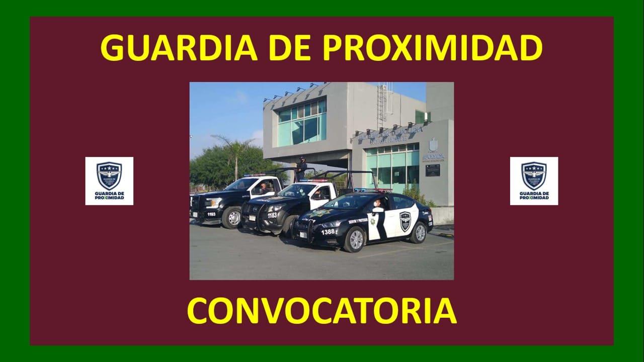 Convocatoria guardia de proximidad
