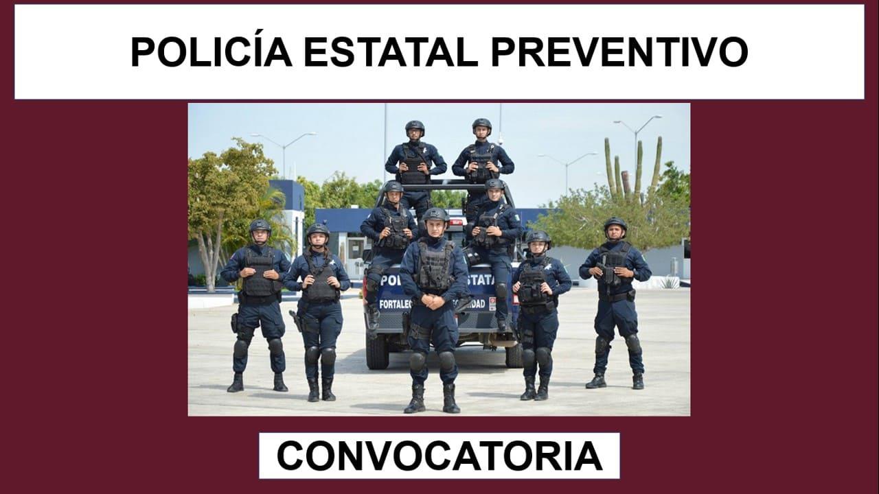convocatoria policia estatal preventivo