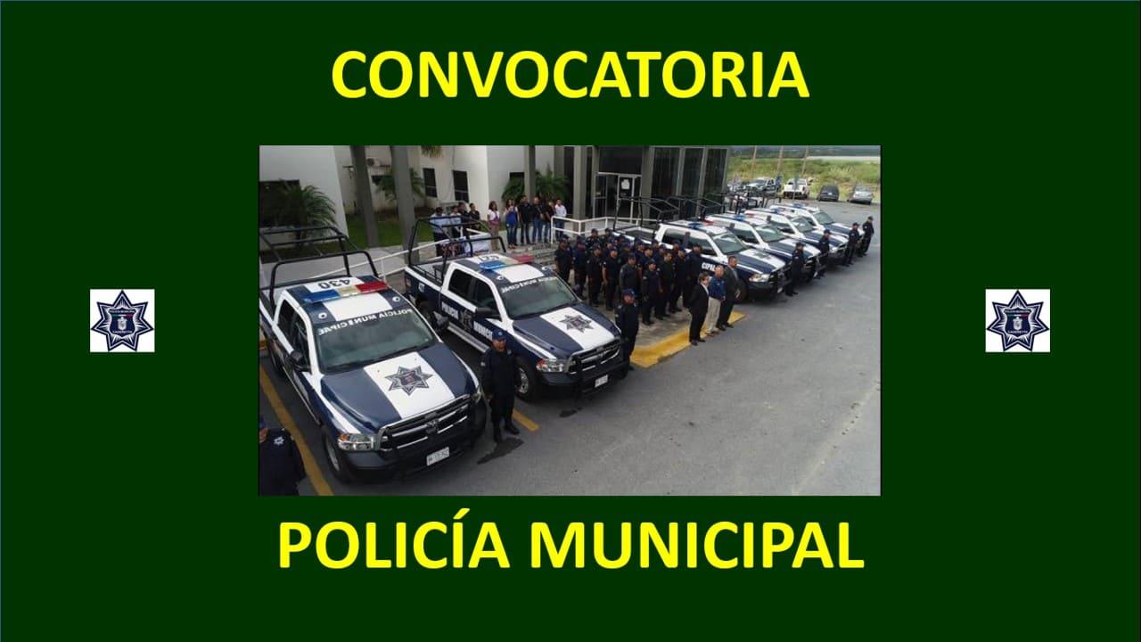 convocatoria policia municipal cadereyta