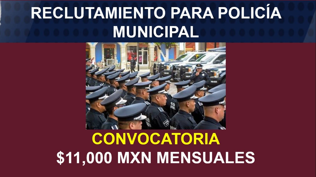 convocatoria policia municipal