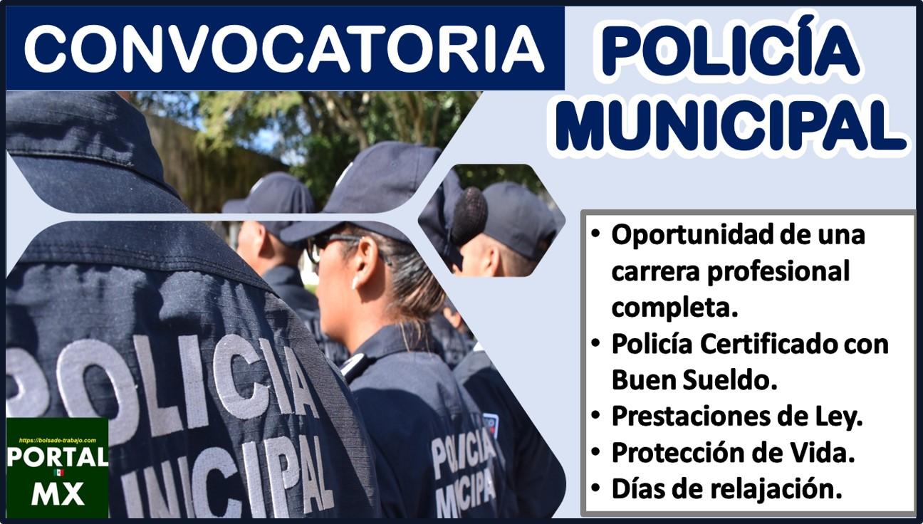Convocatoria Policía Municipal 2021-2022