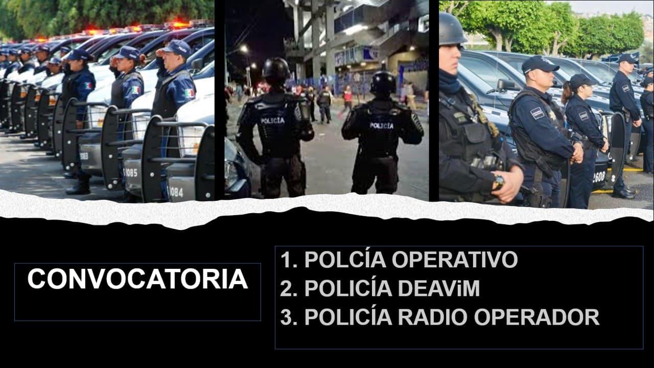 Policía Operativo, Policía DEAViM Y Policía Radio Operador