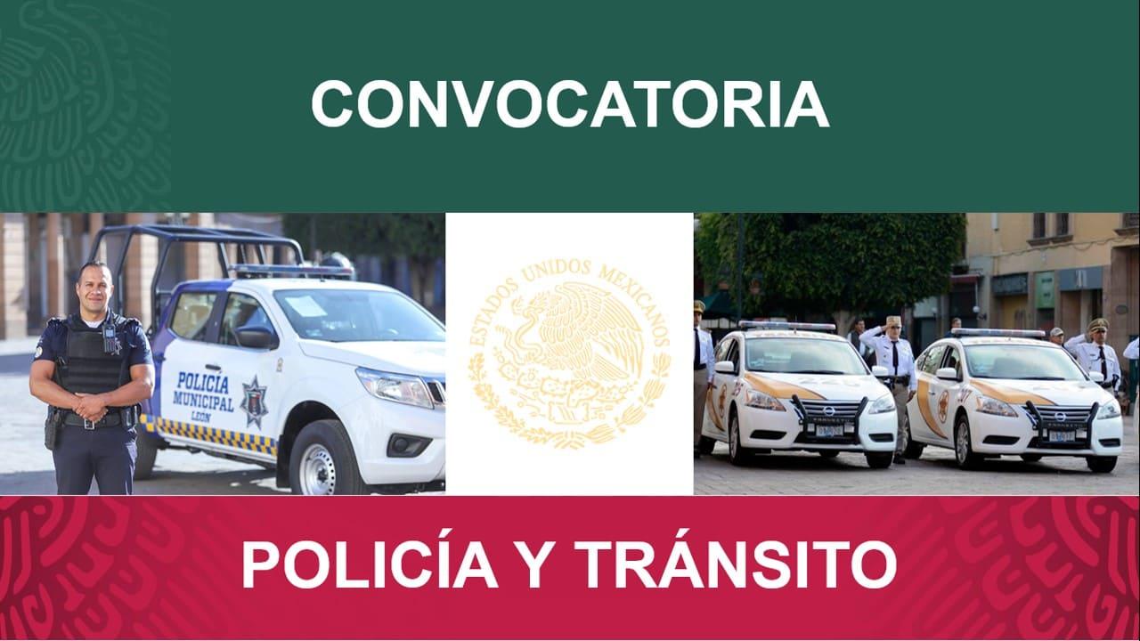 convocatoria policia y transito de leon guanajuato