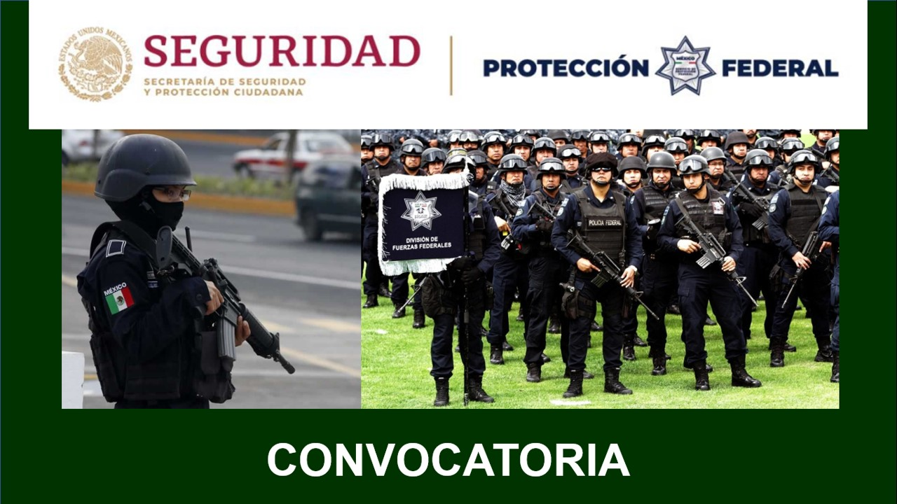 servicio proteccion federal convocatoria 2020